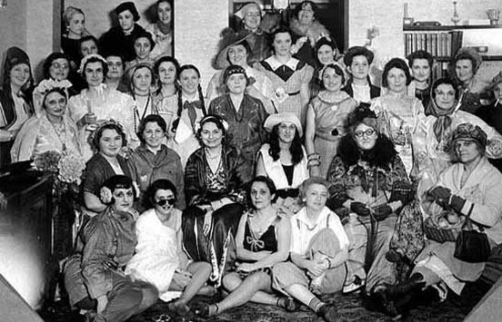 Adath Jeshurun Women's League, Minneapolis, c.1930.