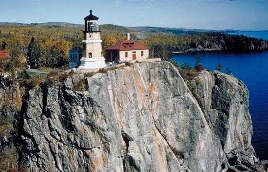 Split Rock Lighthouse Station. Photographed by Dennis Adams of the Federal Highway Administration c.2000.