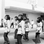 Brown Berets march in step