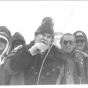 Clyde Bellecourt and others at Wounded Knee