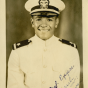 Picture of Carl Rowan taken during his time as an ensign in the United States Navy. Uploaded by Flickr user Tennessee State Library and Archives, February 11, 2013. CC BY-NC-ND-2.0.
