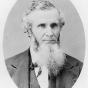 Black and white photograph of George W. Manypenny, commissioner of Indian affairs, c.1860.