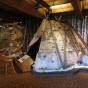 Interior of the Grand Portage National Monument Heritage Center