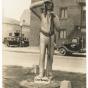 First Shaynowishkung (Chief Bemidji) statue
