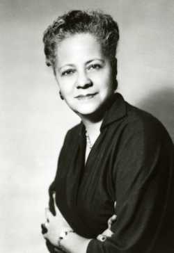 Anna Arnold Hedgeman, ca. 1950s. Used with the permission of Hamline University.