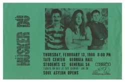 Hüsker Dü concert poster, 1986