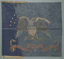 Eighth Minnesota Regimental Battle Flag