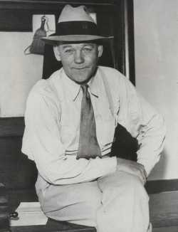 Black and white photograph pf Francis H. Shoemaker, 1934.