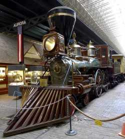 Color image of the William Crooks locomotive, ca. 2000.