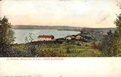 La Pointe, Madeline Island, Lake Superior, Wisconsin.