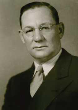 Black and white photograph of John Benson.