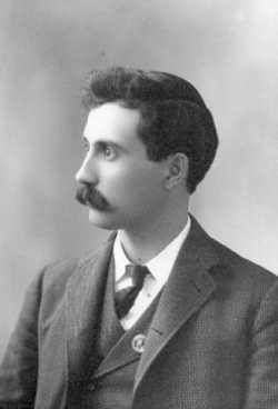 Black and white photograph of Charles E. Kiewel, ca. 1915.