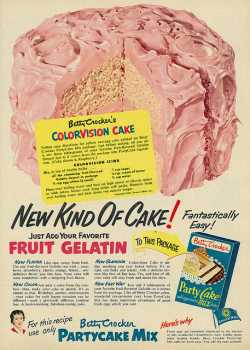 Colorvision Cake advertisement