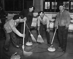 Team entered in St. Paul Curling Club bonspiel.