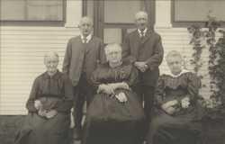 Photograph of the DeGonda Family