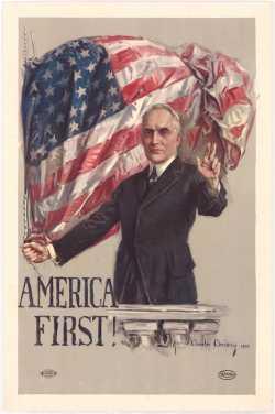 America First Association poster