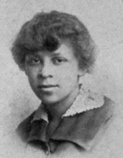 Black and white photograph of Ethel Ray (later Ethel Ray Nance), 1917. From the 1917 Duluth Central High School yearbook, Zenith.