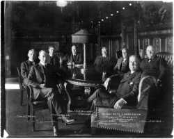 Black and white photograph of Minnesota Commission of Public Safety members, c.1918.