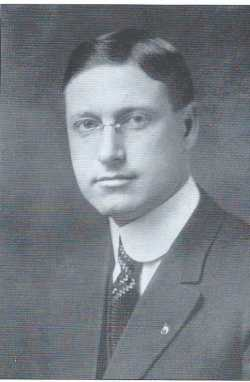 Bert Keck as pictured in the Compendium of History and Biography of Polk County, published by W. H. Bingham and Company, 1916.