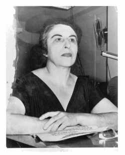 Irene Paull Testifying Before HUAC