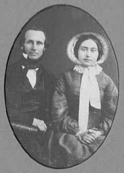 Portrait of the Reverend John F. Aiton and Mary Briggs Aiton, 1854.