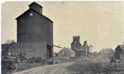 Harmony Grain Elevators, ca 1885