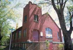 Color image of St. Mark's African Methodist Episcopal Church, Duluth, 2001.