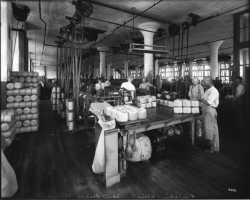Twine factory floor