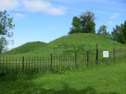 Color image of Indian Mounds Park, 2016. Photograph by Paul Nelson.