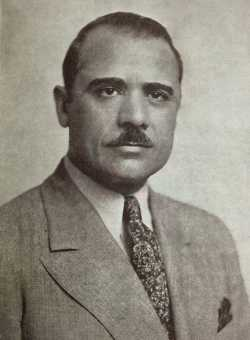 Black and white photograph of John T. Bernard, c.1938.