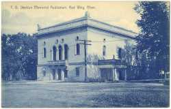 T.B. Sheldon Memorial Auditorium, Red Wing