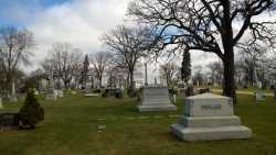 Color image of Oakland Cemetery, St. Paul