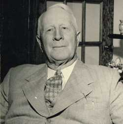 Photograph of Charles Klein, seated.