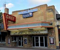 Exterior of the Chief Theatre