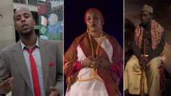 Abdi Farah (Abdi Phenomenal), Safiya Tusmo, and Awil Ali Waarabe