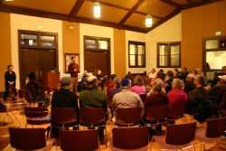 Color image of a Mayim Rabim Storytelling event, 2013.