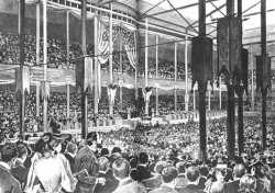 Interior of the Exposition Hall, Republican National Convention, Minneapolisl