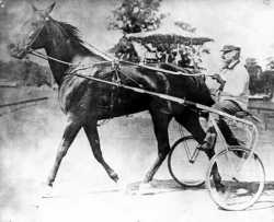 Dan Patch driven by M.E. McHenry, his first trainer