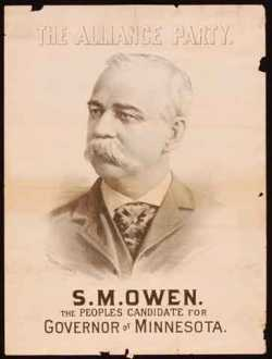 S.M. Owen - The People's Candidate for Governor of Minnesota