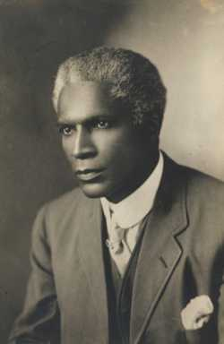 Black and white photograph of Fredrick McGhee, c.1910.