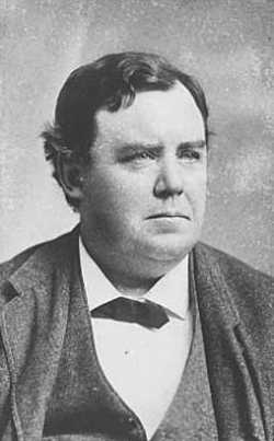Black and white photograph of Ignatius Donnelly, c.1880.