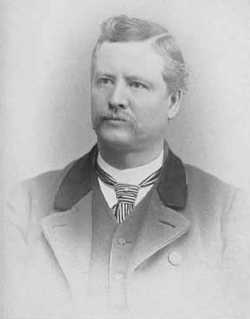 Black and white photograph of Dr. Albert Alonzo Ames, ca. 1890.
