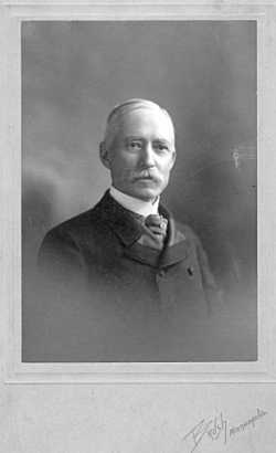 Black and white photograph of Charles M. Loring, c.1900.