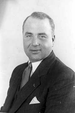 Black and white photograph of Melvin Maas, 1931.