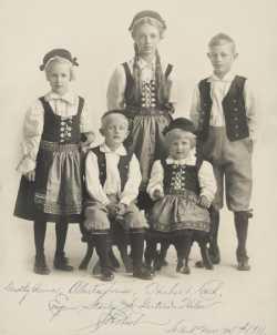Children of Governor Adolph Eberhart