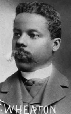 Black and white photograph of John Frank Wheaton, c.1899.