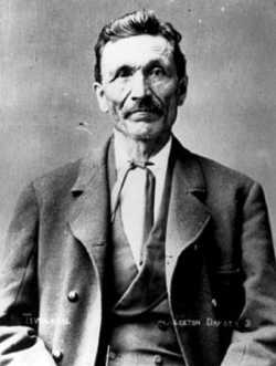 Black and white photograph of Gabriel Renville, ca. 1880–1881.