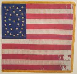 10th Minnesota national battle flag