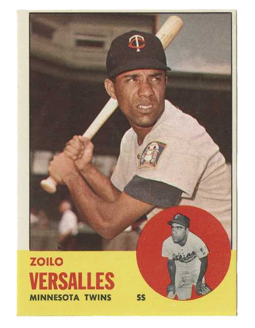 Zolio Versalles baseball card