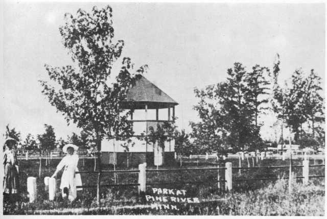 Park at Pine River, ca, 1910s
